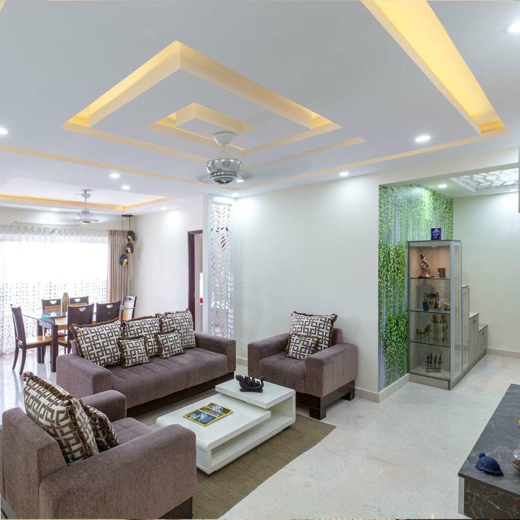 False Ceiling Design Ideas For Living Room